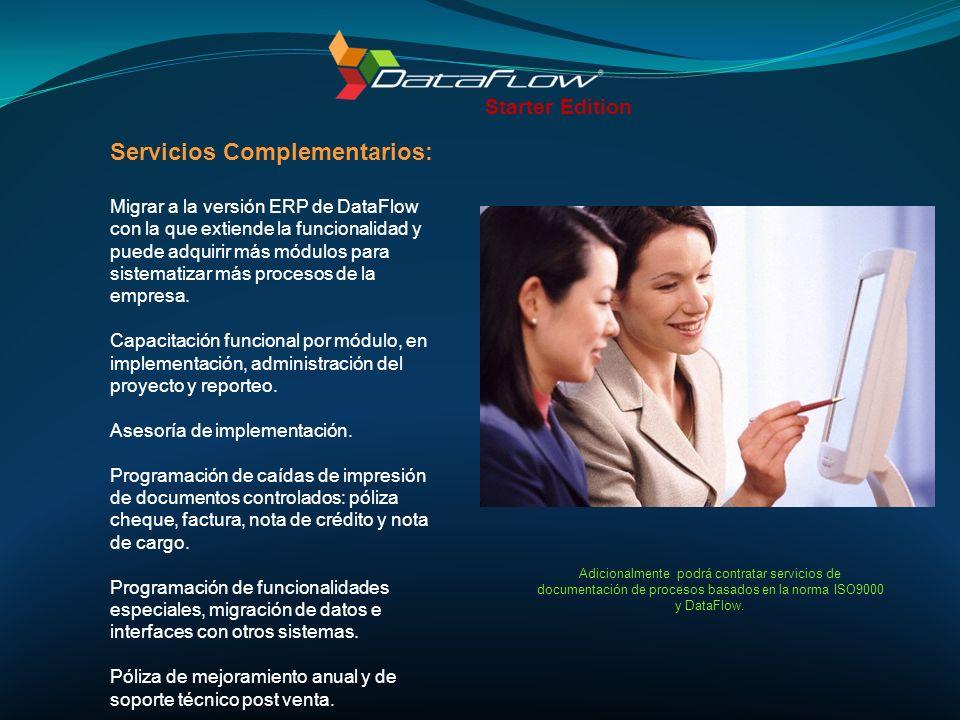Servicios Complementarios: