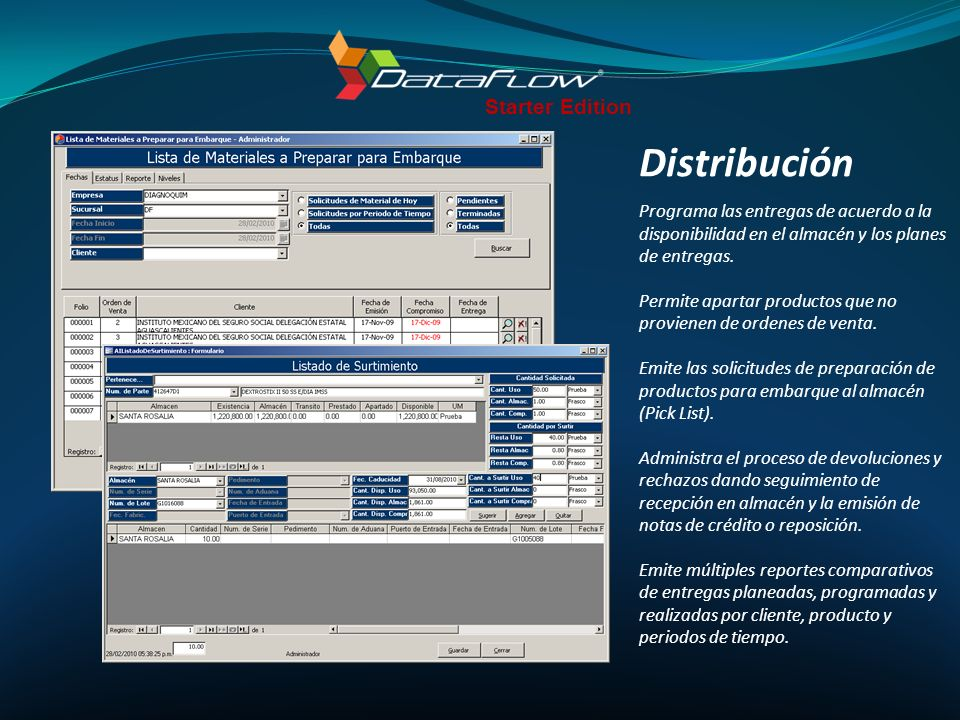 Distribución Starter Edition