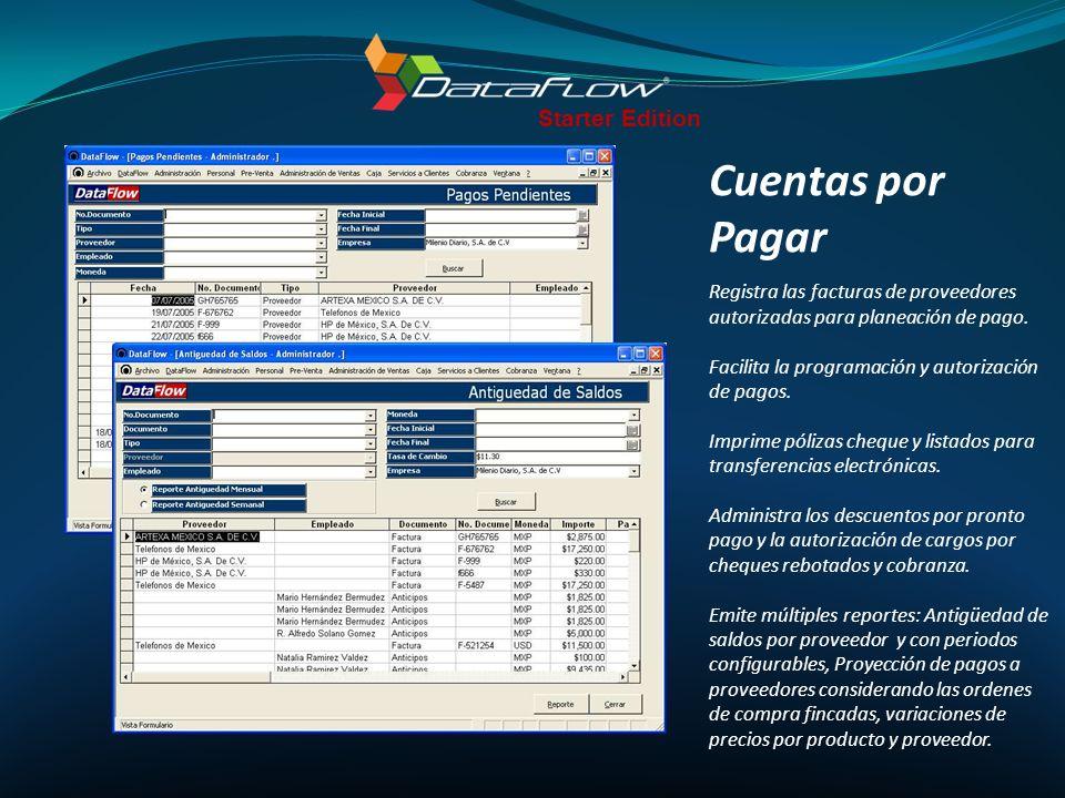 Cuentas por Pagar Starter Edition
