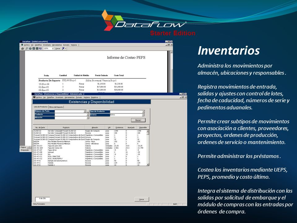 Inventarios Starter Edition