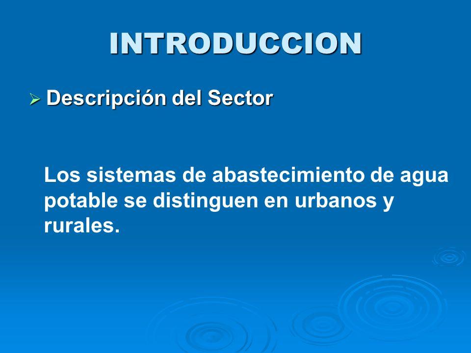 INTRODUCCION Descripción del Sector
