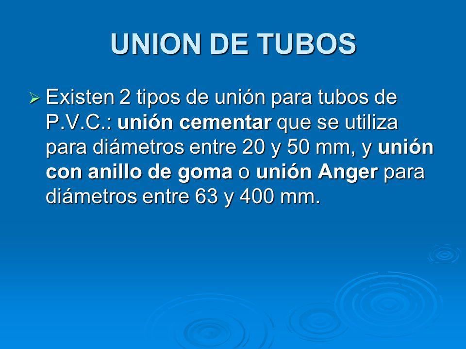 UNION DE TUBOS