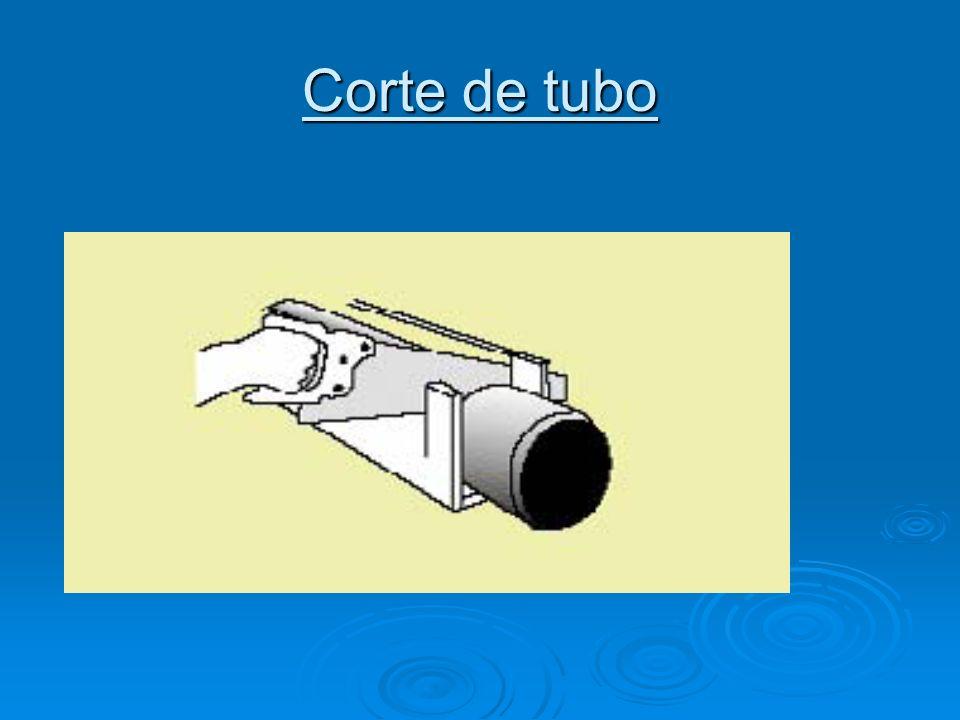 Corte de tubo