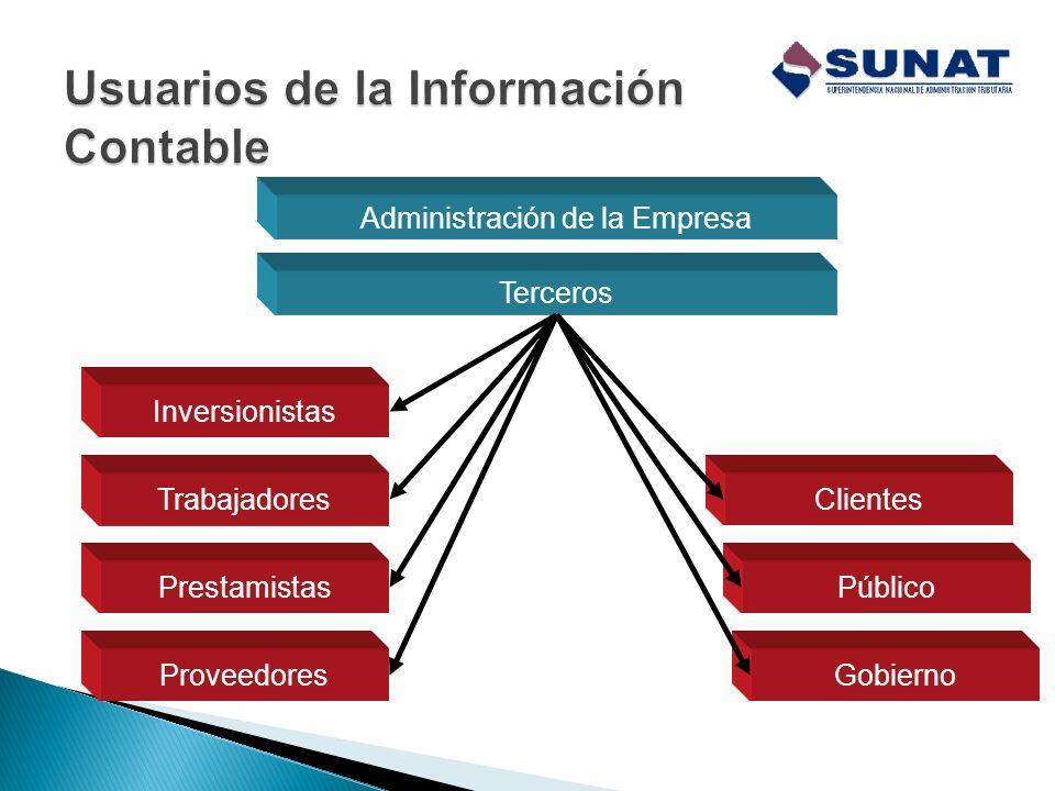 Usuarios de la Información Contable