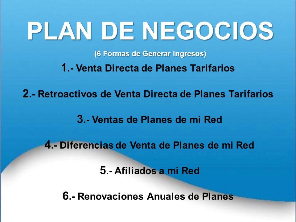 PLAN DE NEGOCIOS (6 Formas de Generar Ingresos)