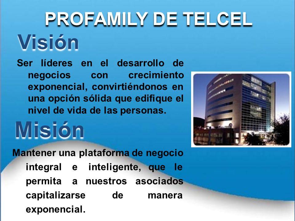 Misión Visión PROFAMILY DE TELCEL