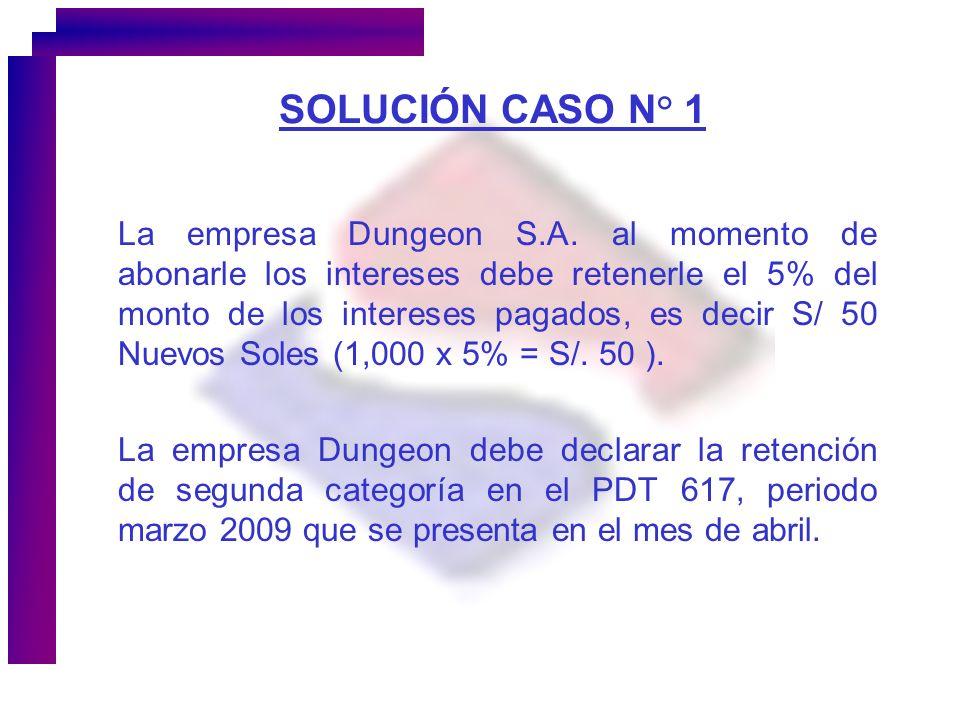 SOLUCIÓN CASO N° 1