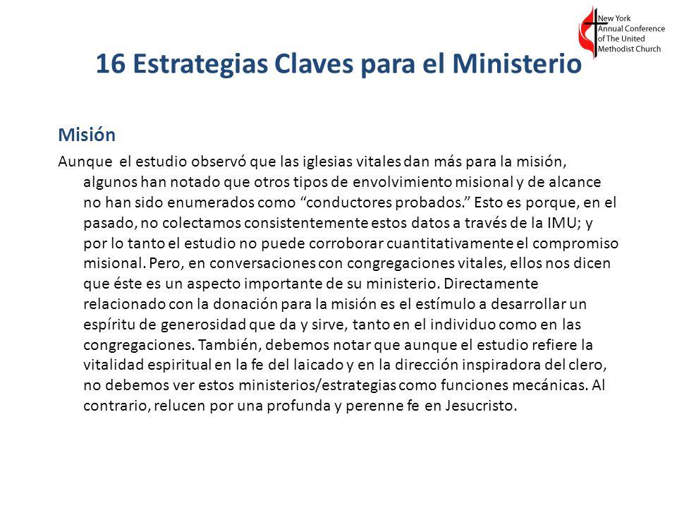16 Estrategias Claves para el Ministerio