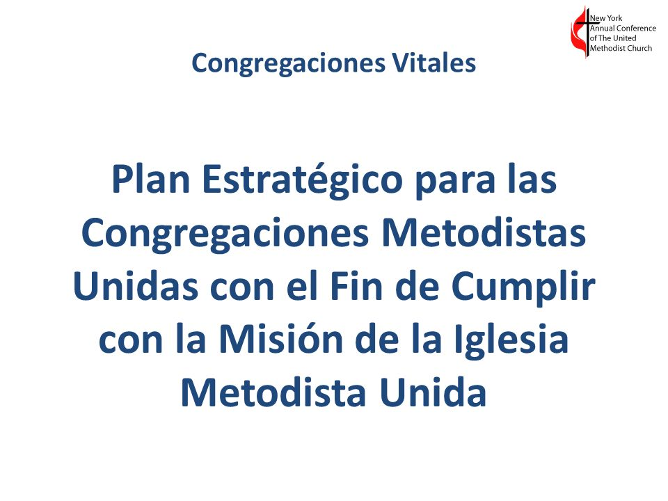 Congregaciones Vitales