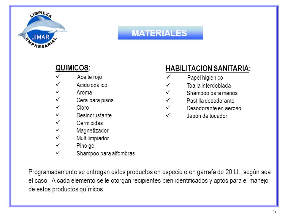 MATERIALES QUIMICOS: HABILITACION SANITARIA: Aceite rojo