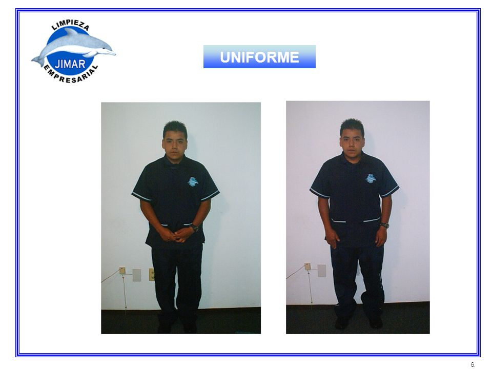 UNIFORME 6.