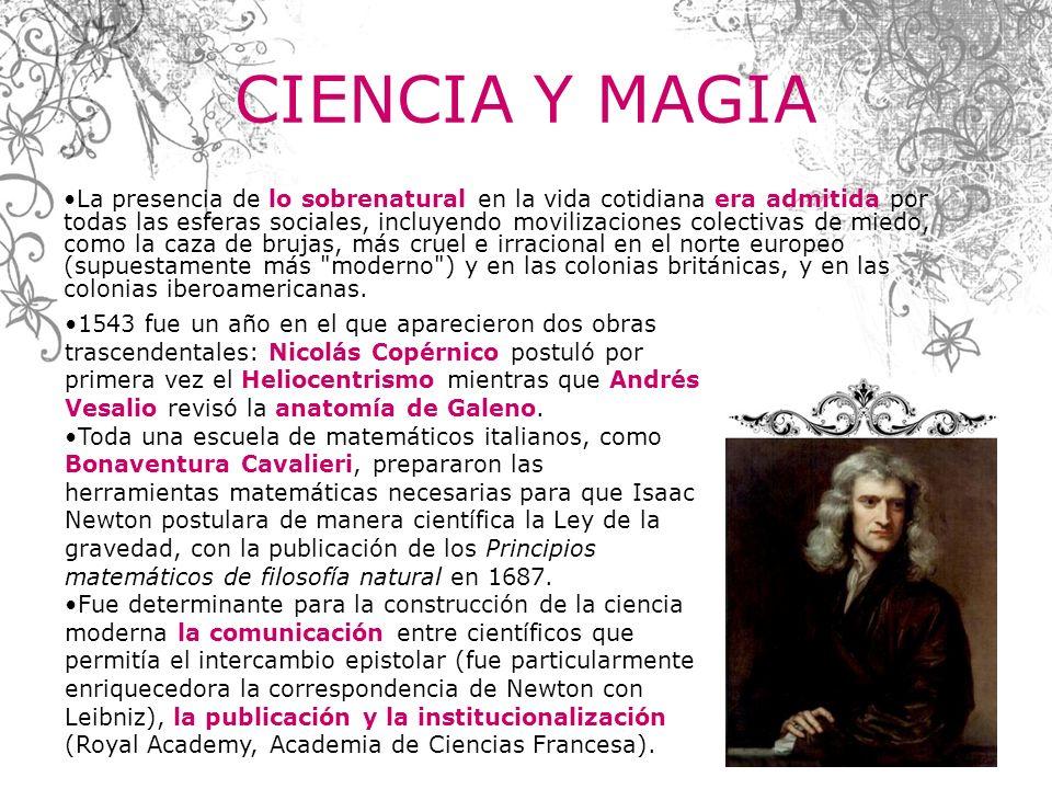CIENCIA Y MAGIA