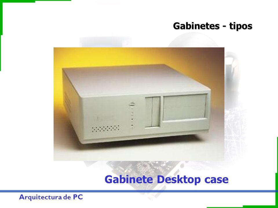 Gabinetes - tipos Gabinete Desktop case