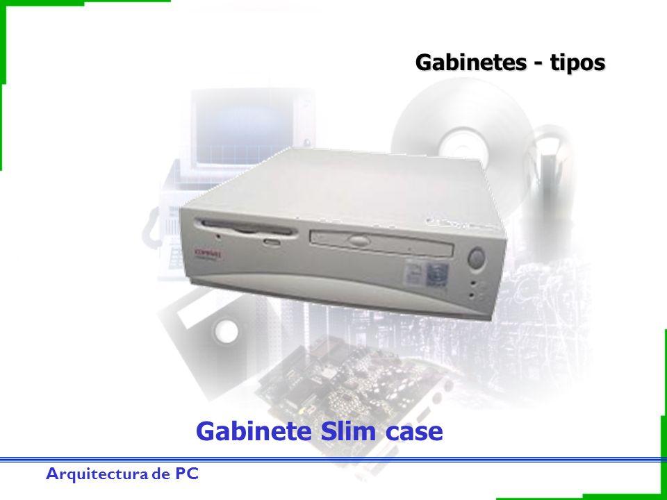 Gabinetes - tipos Gabinete Slim case