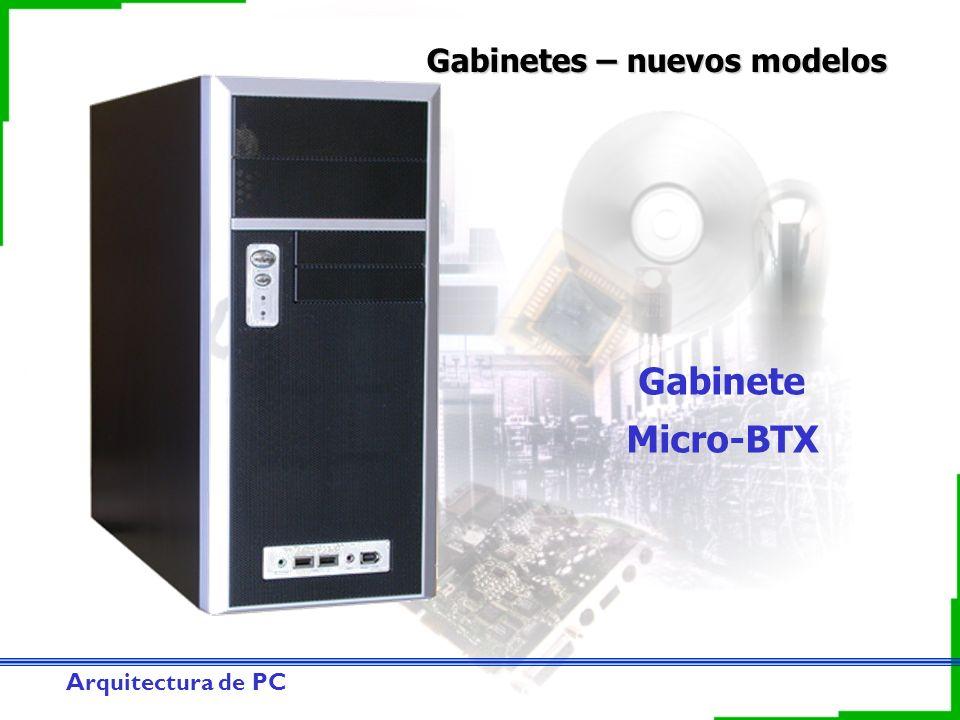 Gabinetes – nuevos modelos