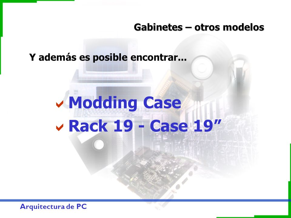 Modding Case Rack 19 - Case 19 Gabinetes – otros modelos
