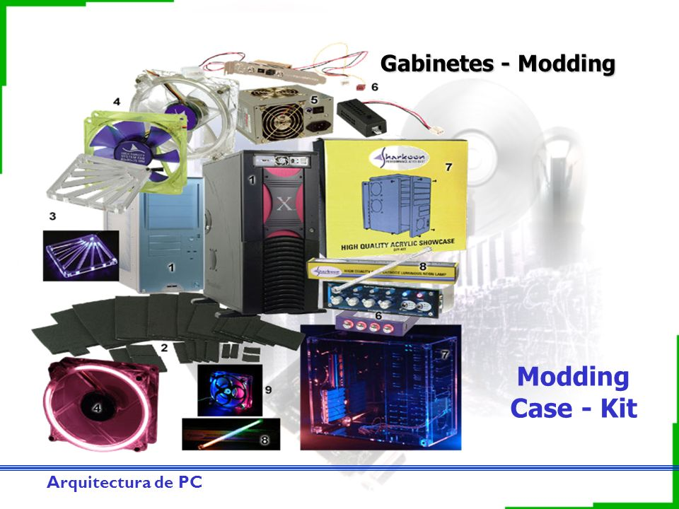 Gabinetes - Modding Modding Case - Kit