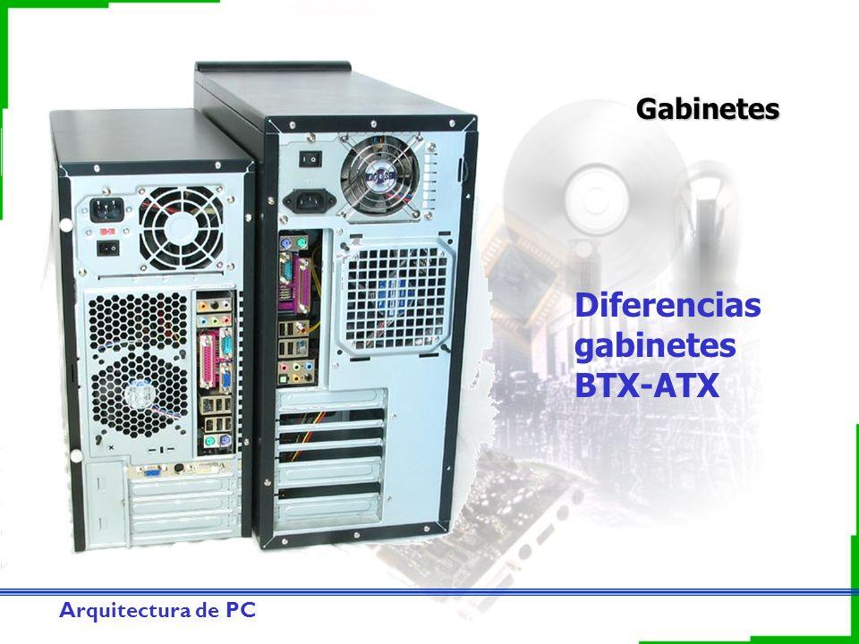 Diferencias gabinetes BTX-ATX