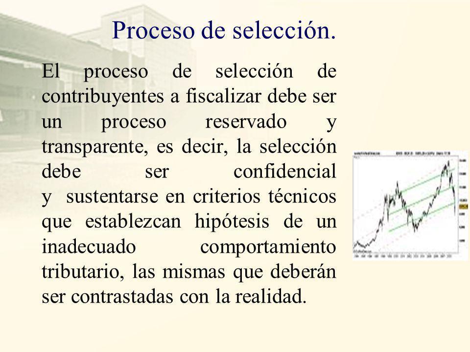 Proceso de selección.