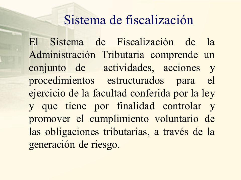 Sistema de fiscalización