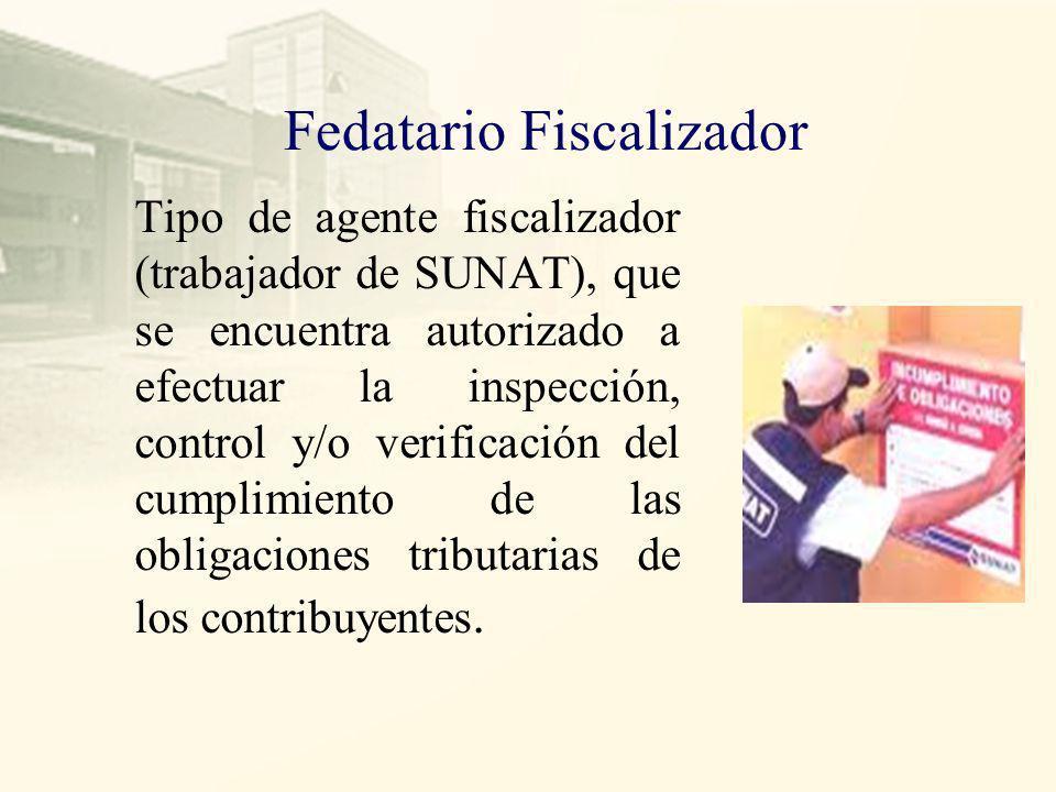 Fedatario Fiscalizador