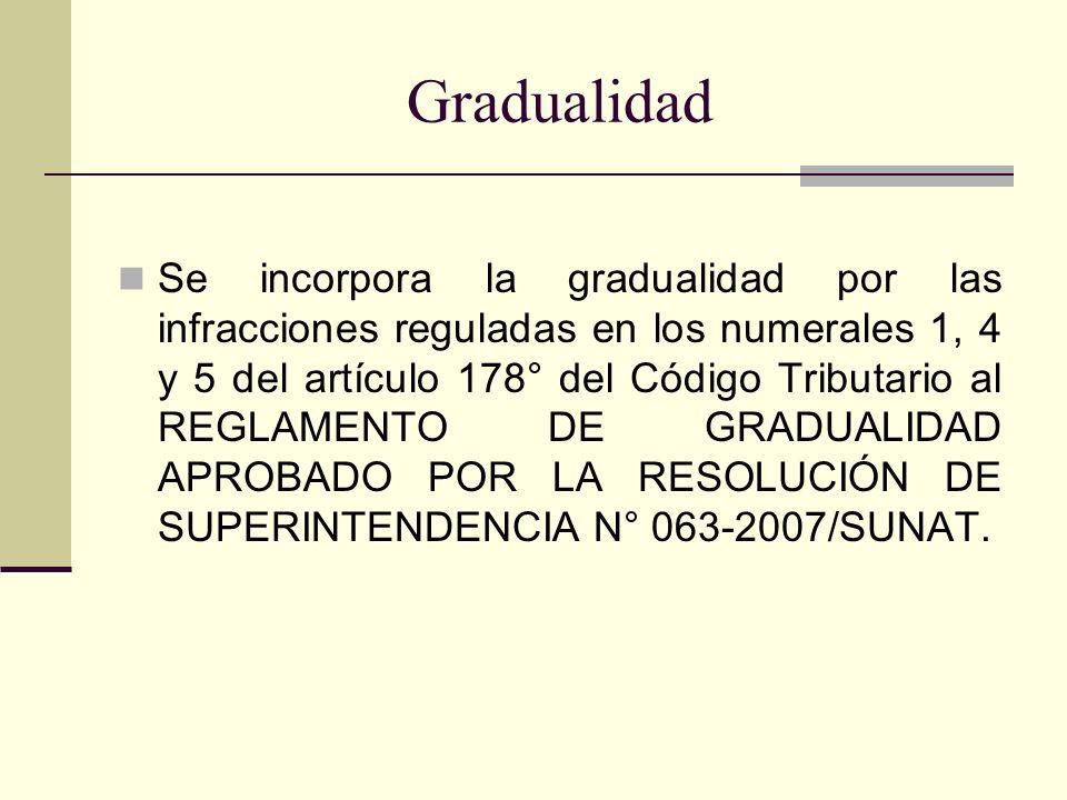 Gradualidad