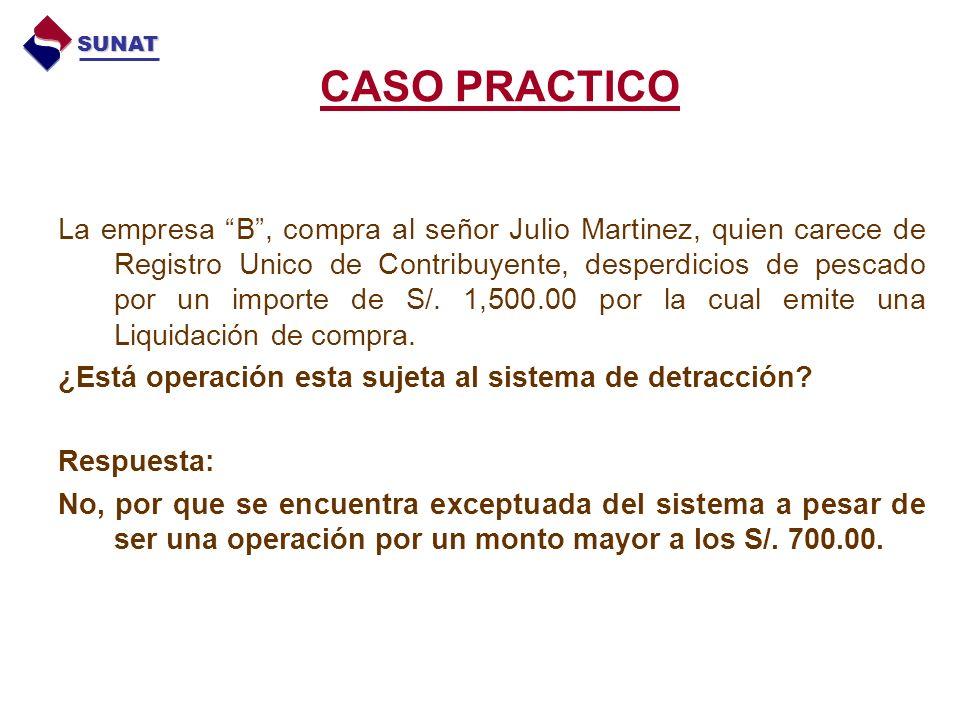 SUNAT CASO PRACTICO.