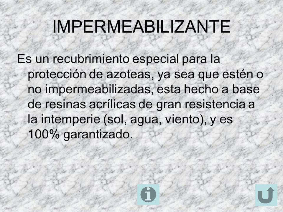 IMPERMEABILIZANTE