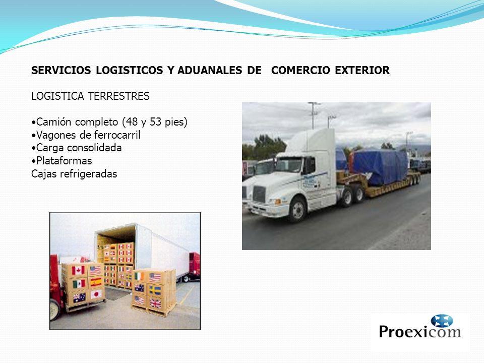 SERVICIOS LOGISTICOS Y ADUANALES DE COMERCIO EXTERIOR