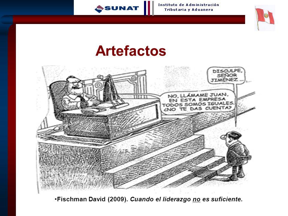 Artefactos Fischman David (2009). Cuando el liderazgo no es suficiente.