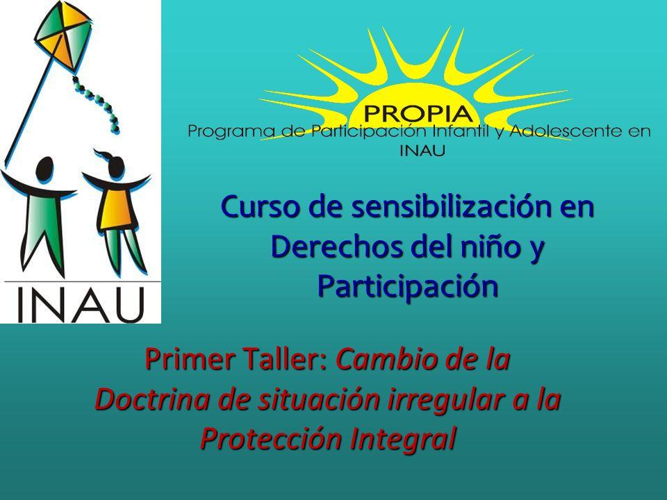 Curso de sensibilización en Derechos del niño y Participación