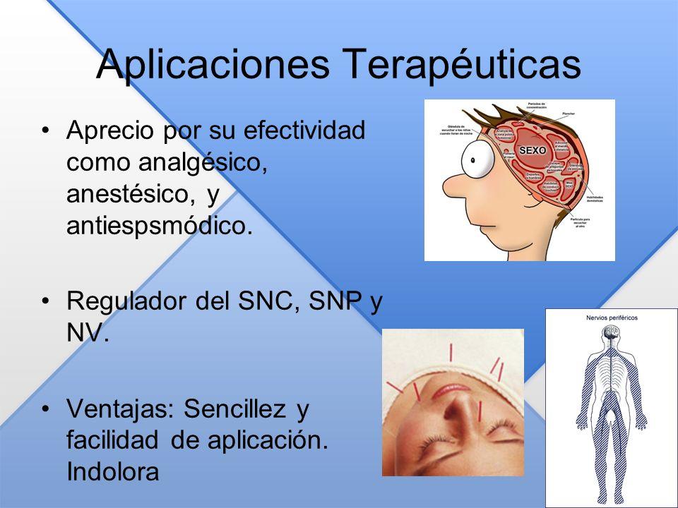 Aplicaciones Terapéuticas