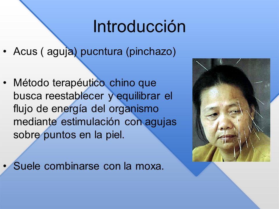 Introducción Acus ( aguja) pucntura (pinchazo)