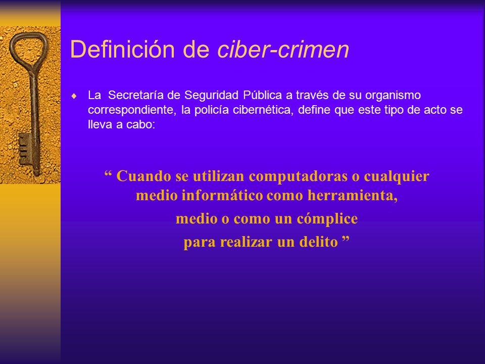 Definición de ciber-crimen