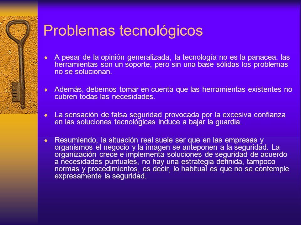 Problemas tecnológicos