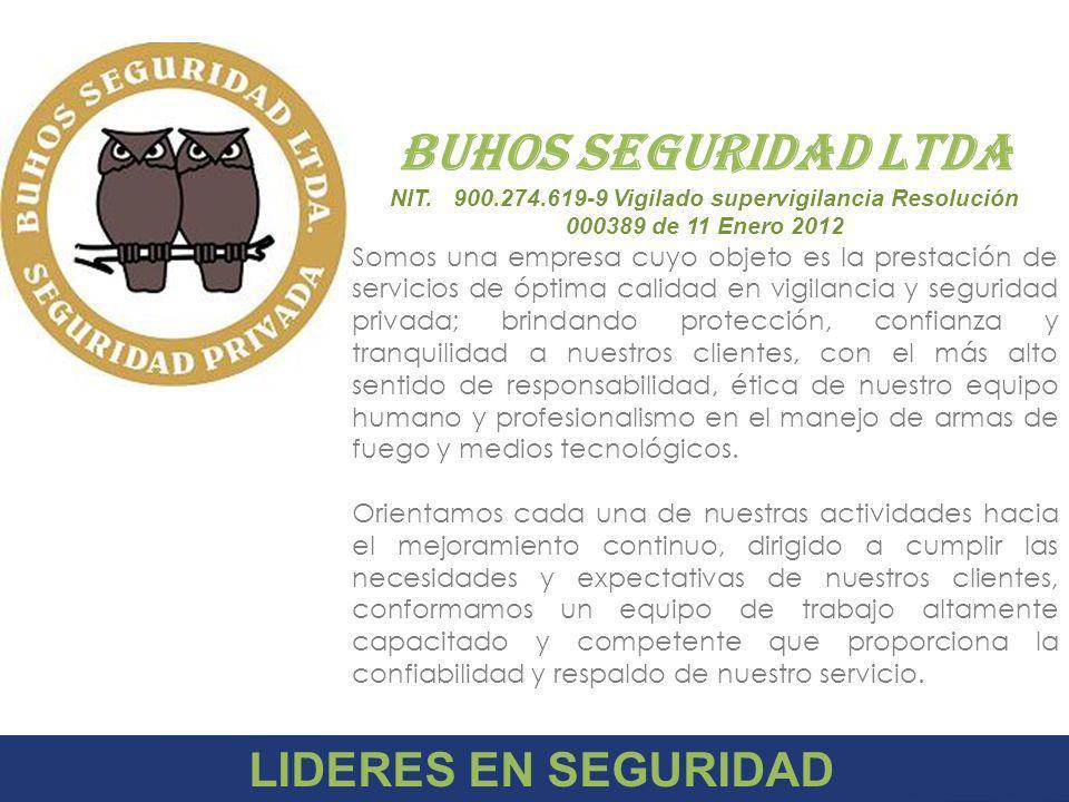 BUHOS SEGURIDAD LTDA LIDERES EN SEGURIDAD