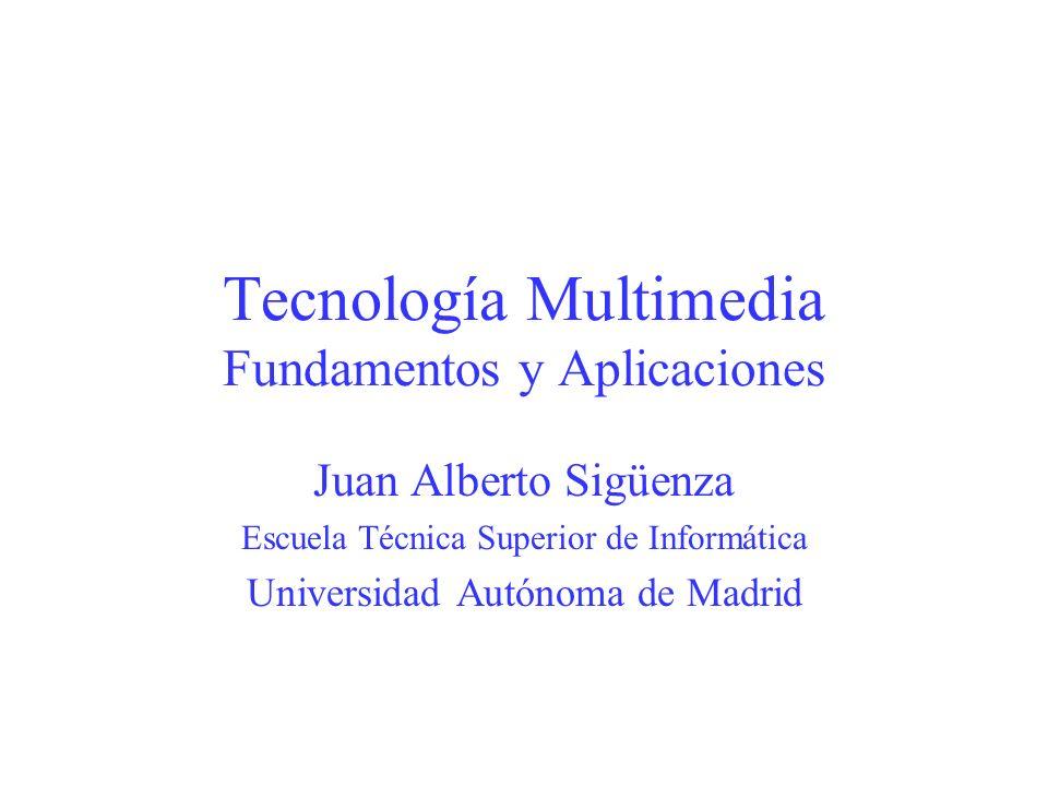 Tecnología Multimedia Fundamentos y Aplicaciones