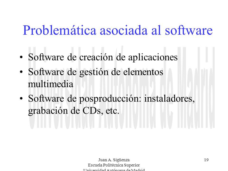 Problemática asociada al software