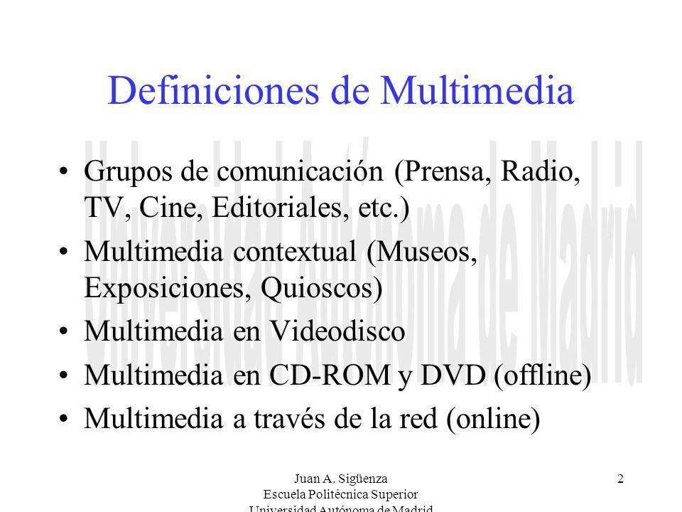 Definiciones de Multimedia