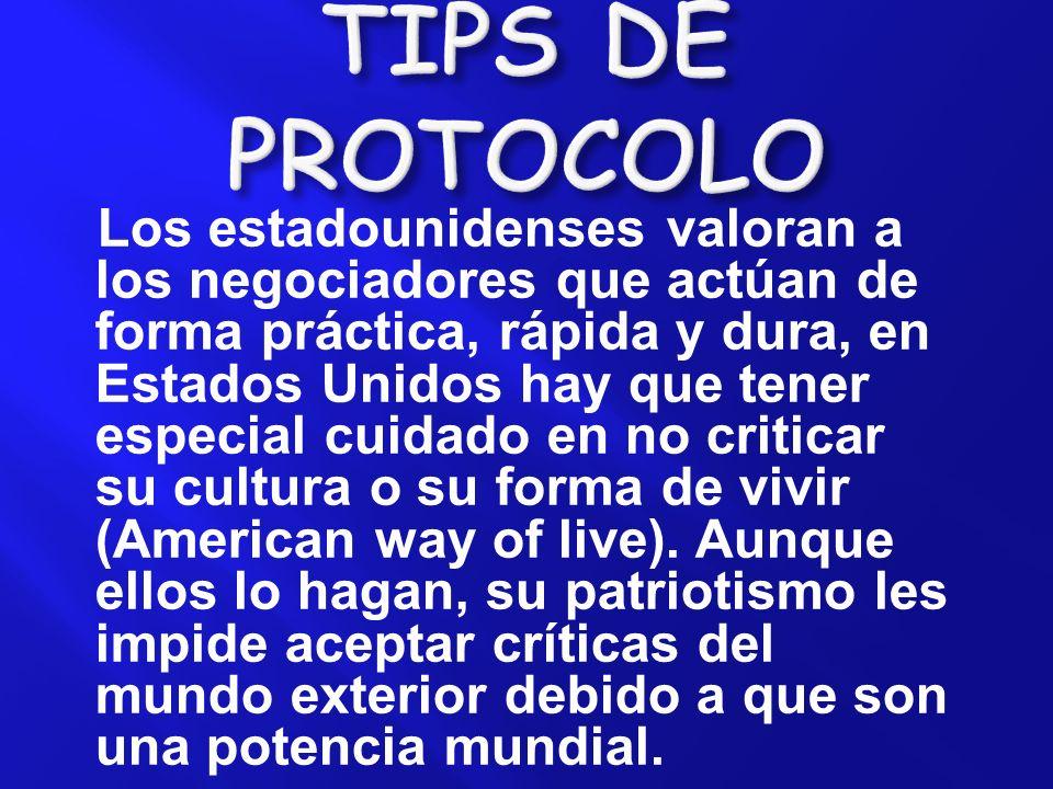 TIPS DE PROTOCOLO