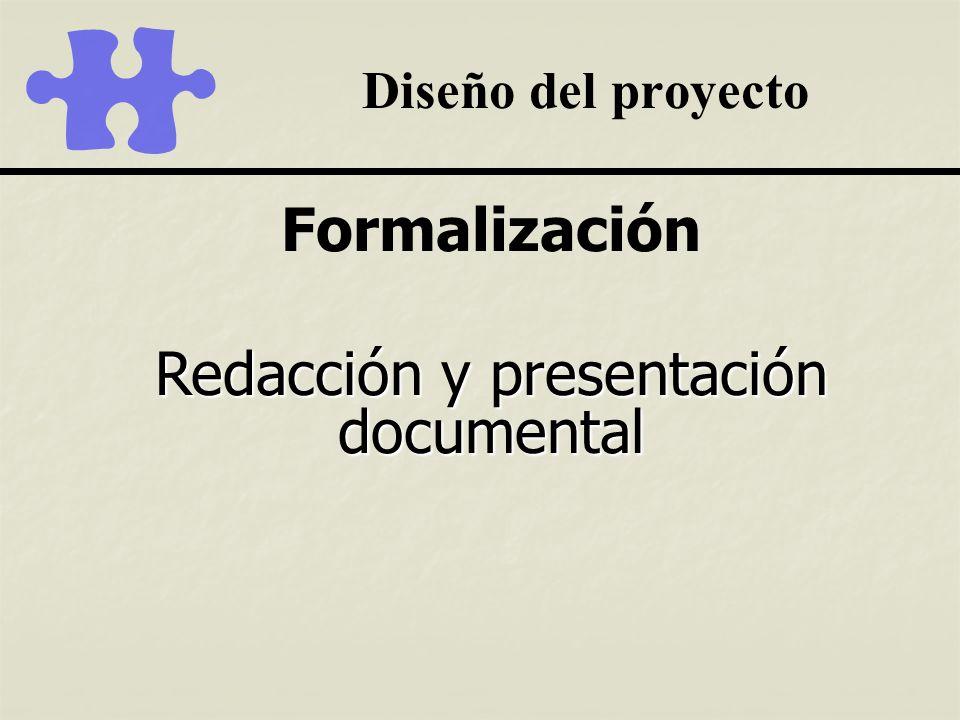 Redacción y presentación documental