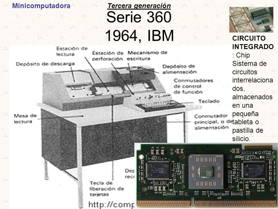 Serie 360 1964, IBM Minicomputadora Tercera generación