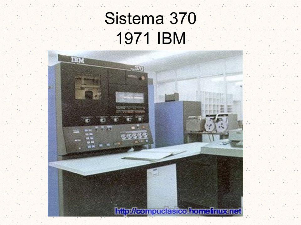 Sistema 370 1971 IBM