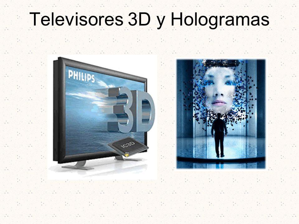 Televisores 3D y Hologramas