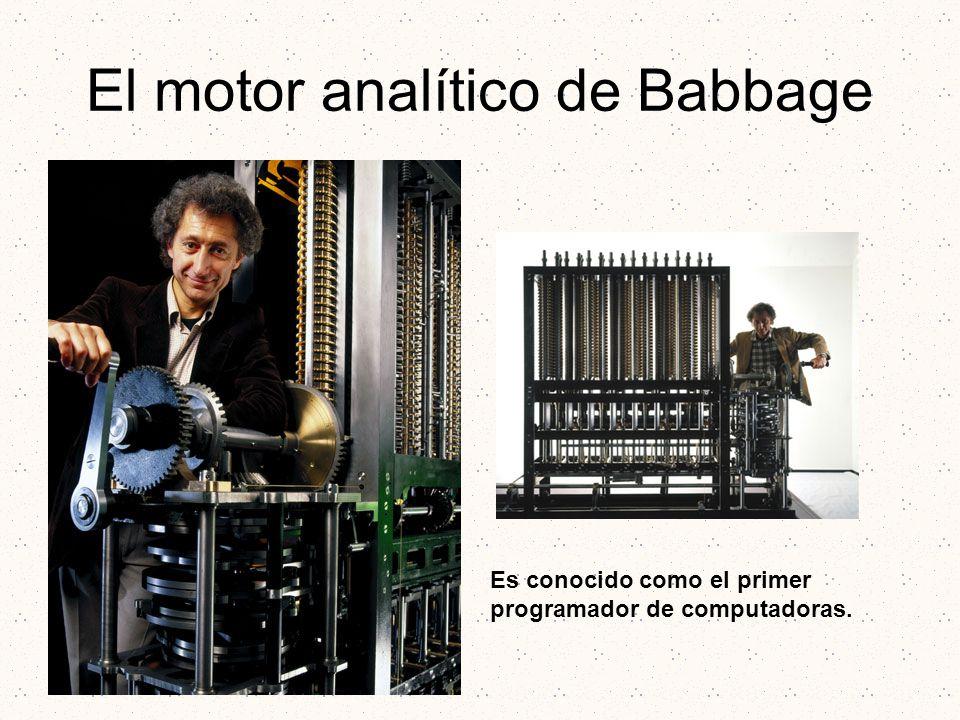 El motor analítico de Babbage
