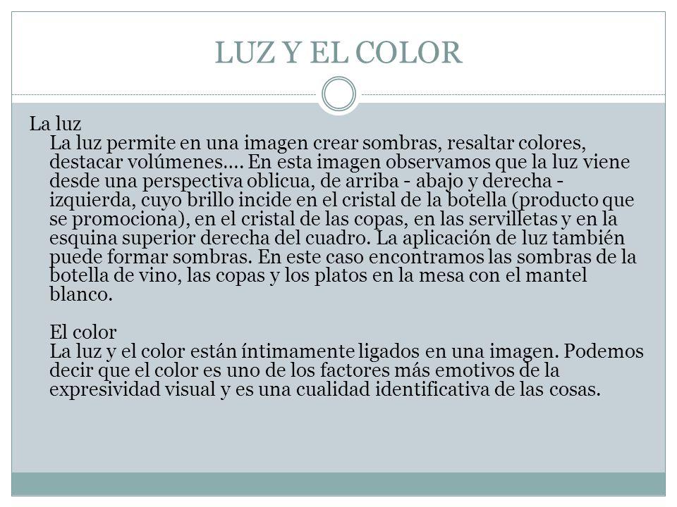 LUZ Y EL COLOR