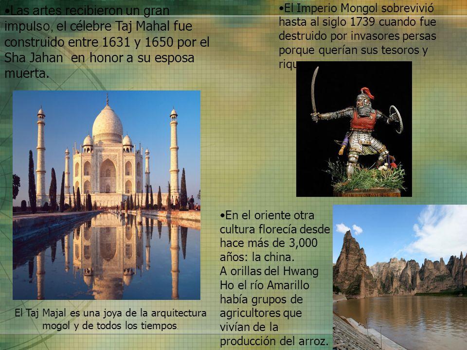El Imperio Mongol sobrevivió hasta al siglo 1739 cuando fue destruido por invasores persas porque querían sus tesoros y riquezas.