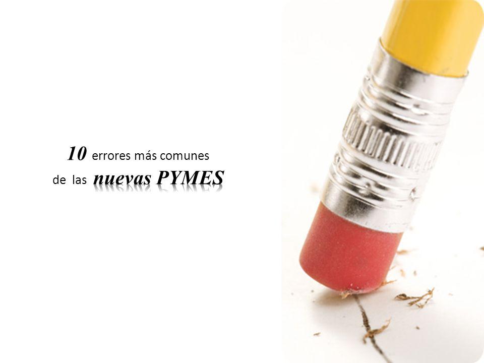 10 errores más comunes de las nuevas PYMES