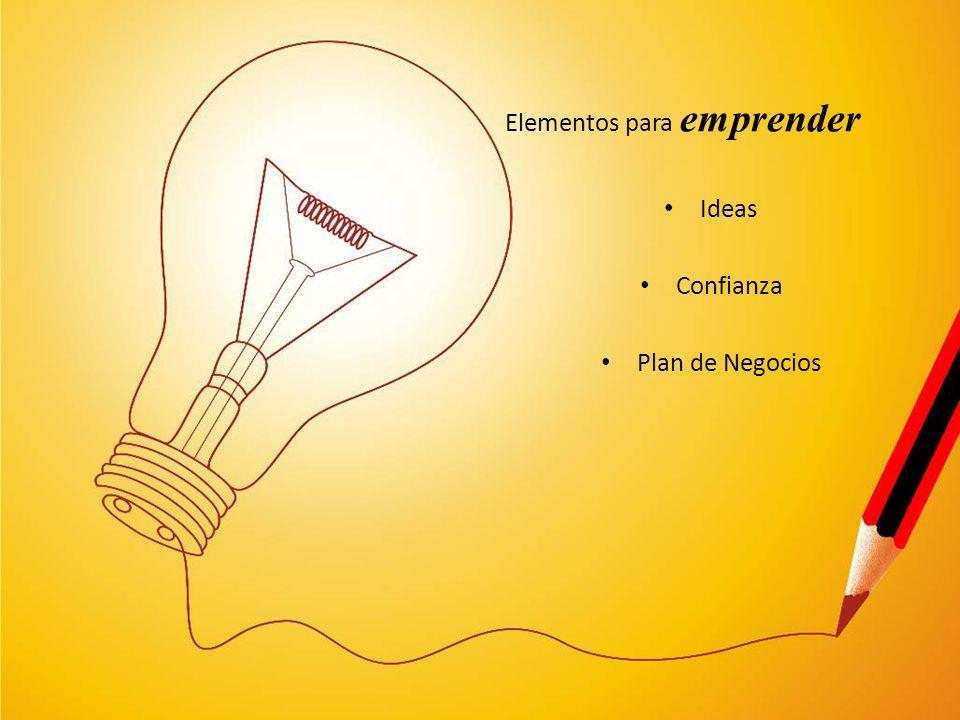 Elementos para emprender