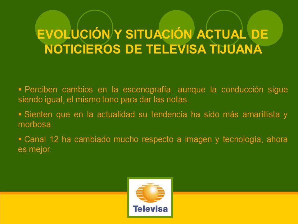 EVOLUCIÓN Y SITUACIÓN ACTUAL DE NOTICIEROS DE TELEVISA TIJUANA